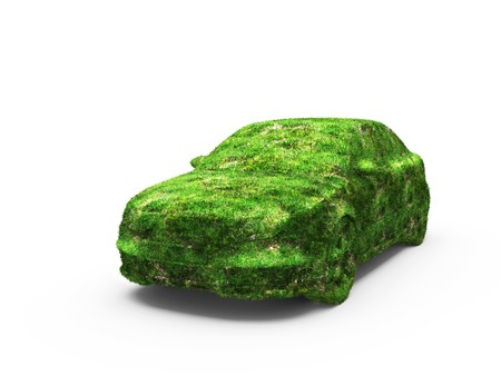 vehicle, designed as an herbal  photo