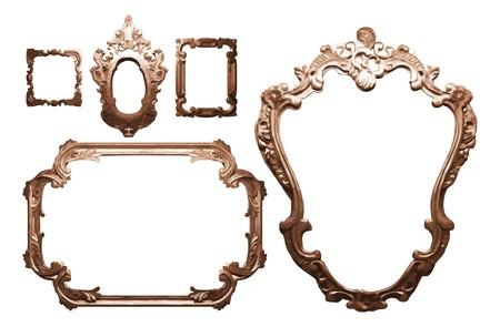 mirror frame: vintage frame