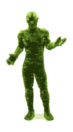 Herbal man  Vector