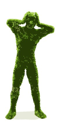 Herbal man Stock Vector - 7334359