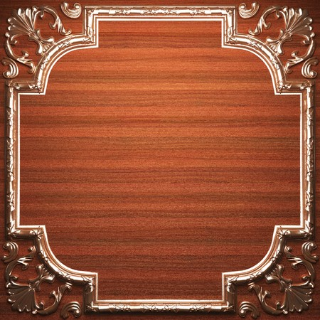 plate with classic ornament made in 3D Stock Photo - 7758138