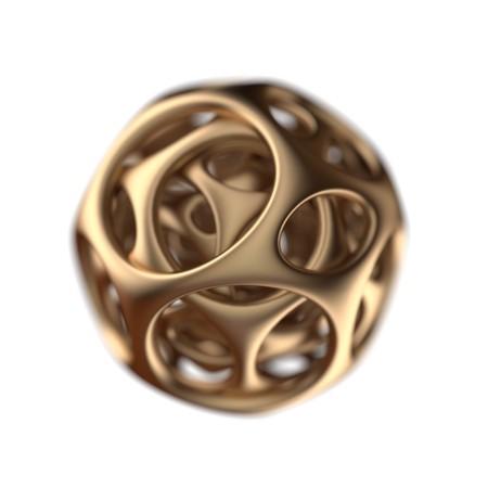 golden spherical designer  photo