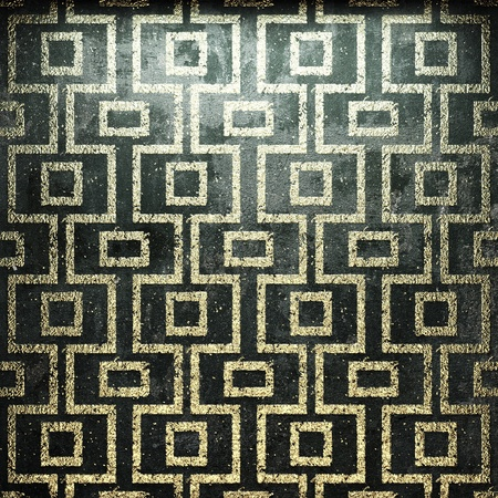 Luxury Golden background made in 3D photo