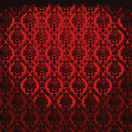 illuminated fabric wallpaper Vector