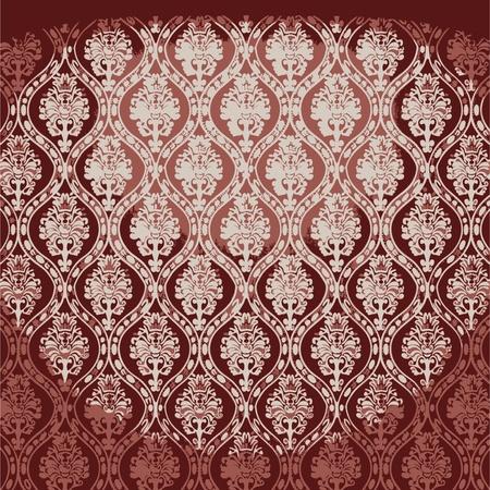 illuminated fabric wallpaper Stock Vector - 8259736