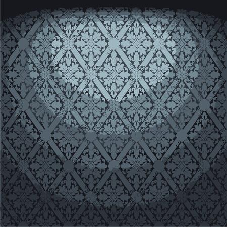 illuminated fabric wallpaper Stock Vector - 8259744