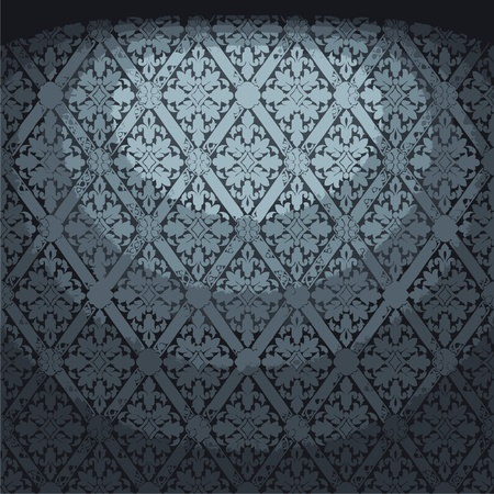 illuminated fabric wallpaper Stock Vector - 8259744