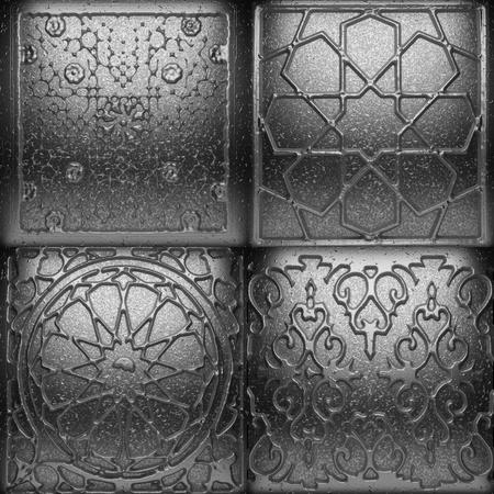 Retro metal ornament Stock Photo - 8435531