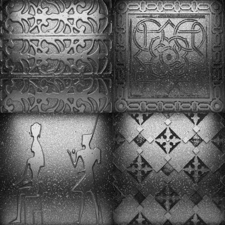 Retro metal ornament Stock Photo - 8435532