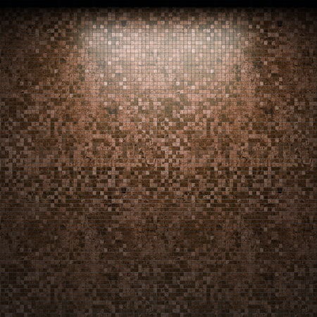 illuminated tile wall made in 3D graphics Stock Photo - 9366789