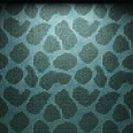 illuminated tile wall made in 3D graphics Stock Photo - 9366797