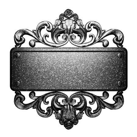 baroque ornament: Iron vintage design element