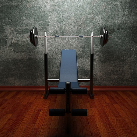 gym room made in 3d Stock Photo - 11216804