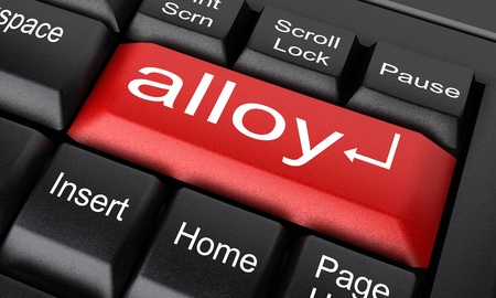 Word on keyboard made in 3D Stock Photo - 11726677