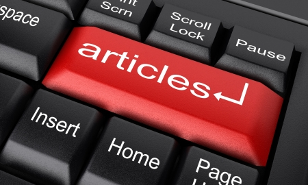 articles: Word on keyboard made in 3D