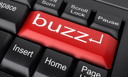 buzz: Word on keyboard made in 3D