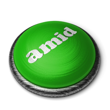 Word on the button Stock Photo - 11831110