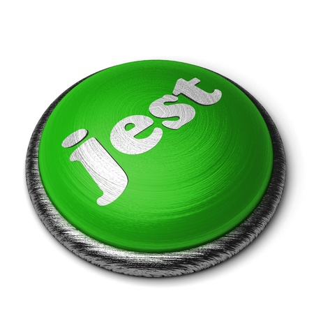 jest: Word on the button