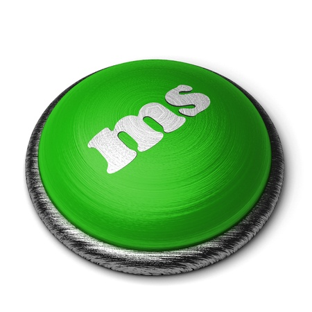 ms: Word on the button