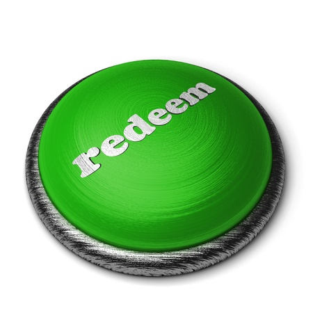redeem: Word on the button