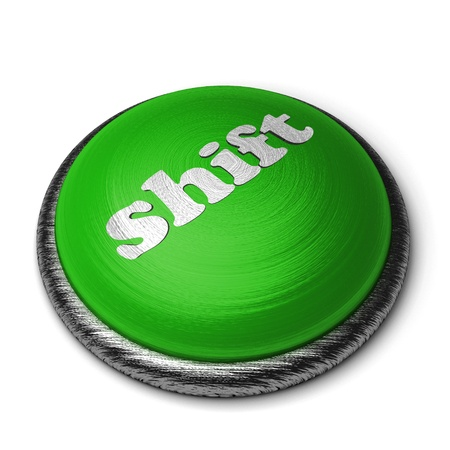Word on the button Stock Photo - 11820464