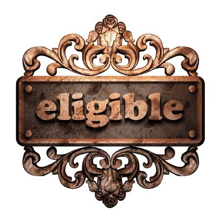eligible: Word ornamento in bronzo