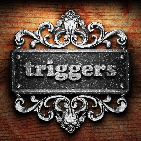 triggers: Silver word on ornament