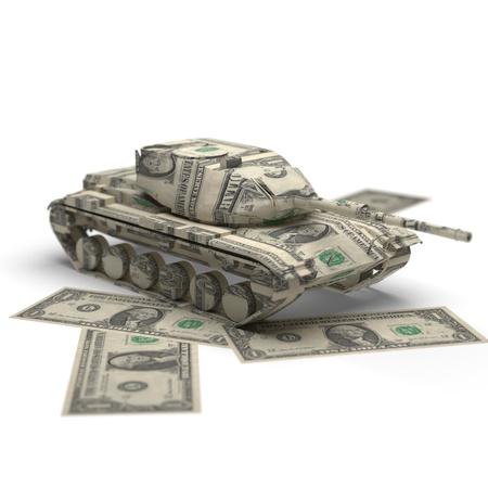 dolar: origami de dinero militar realizados en 3D