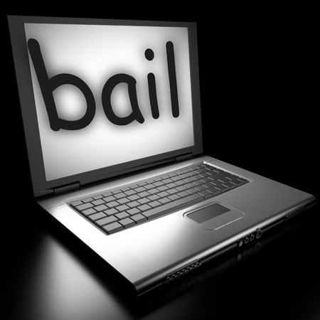 Word on laptop made in 3D Stock Photo - 12986162