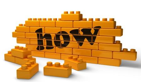 Word on yellow wall Stock Photo - 15522172