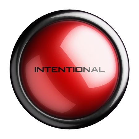 intentional: Word on the button