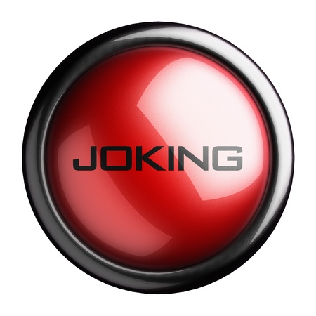 joking: Word on the button