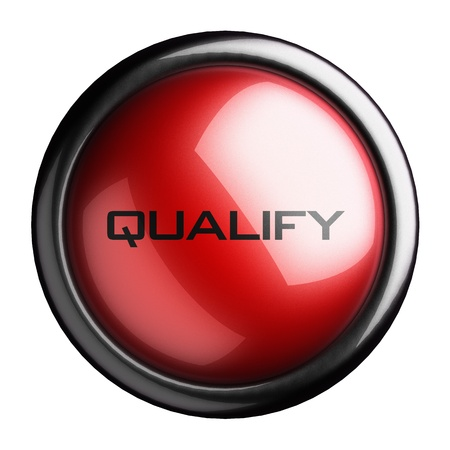 Word on the button Stock Photo - 15617327