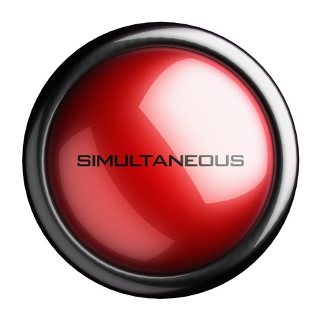 simultaneous: Word on the button