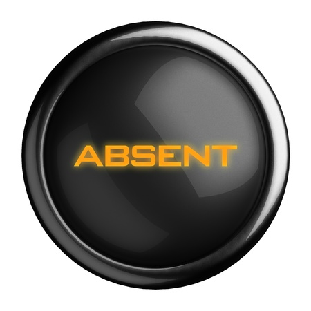 Word on black button Stock Photo - 15639125