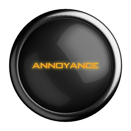 annoyance: Word on black button