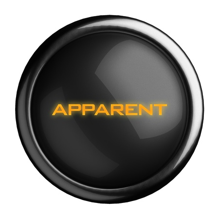 Word on black button Stock Photo - 15629396