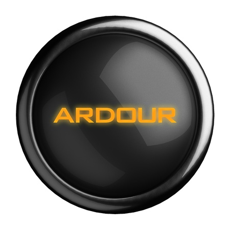ardour: Word on black button