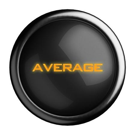 Word on black button Stock Photo - 15639602