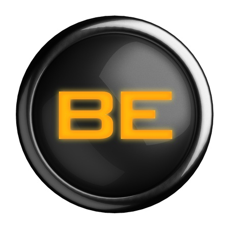 Word on black button Stock Photo - 15633749
