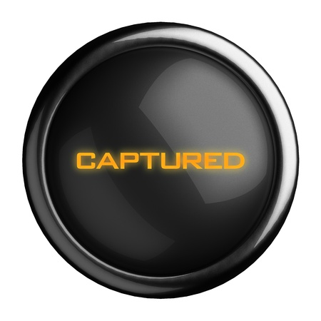 Word on black button Stock Photo - 15639671