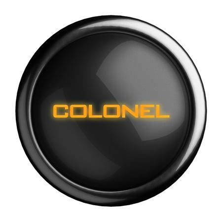 Word on black button Stock Photo - 15639316
