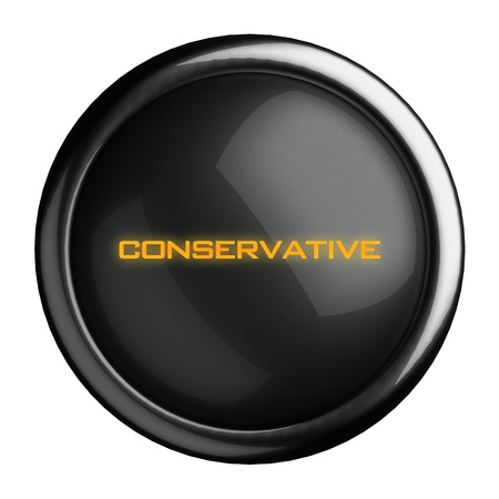 Word on black button Stock Photo - 15664374
