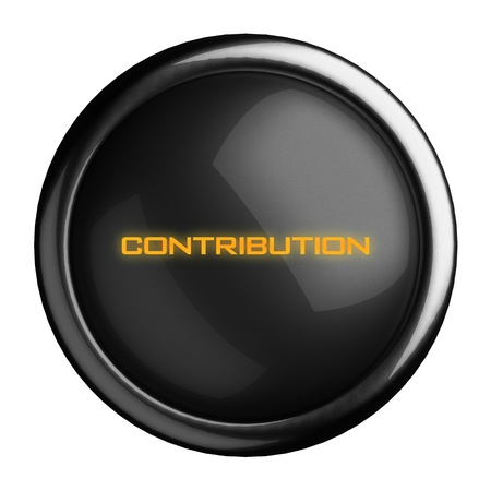 contribution: Word on black button