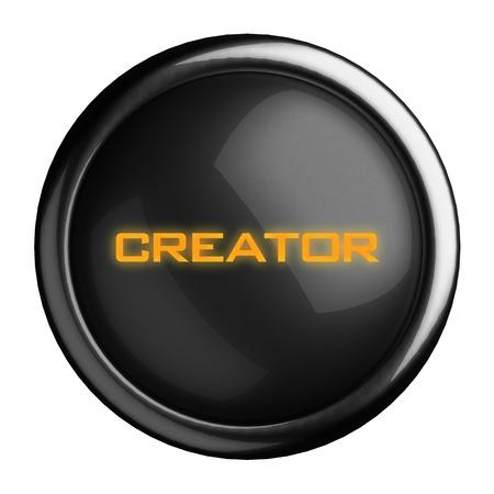 creador: Palabra en el botón negro
