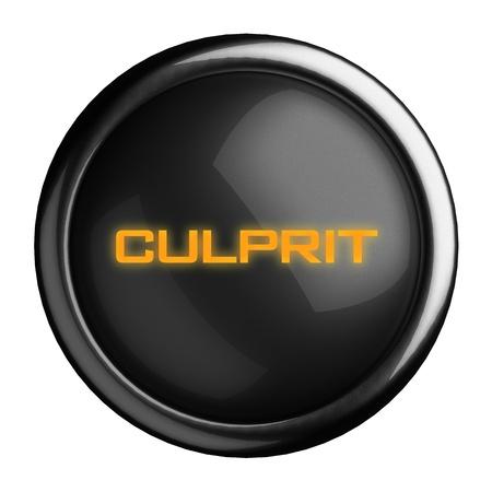 culprit: Word on black button