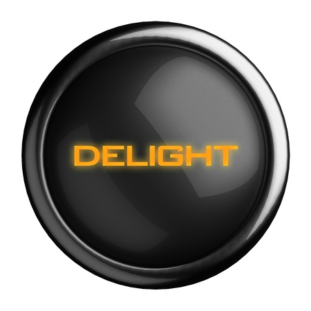 Word on black button Stock Photo - 15703639