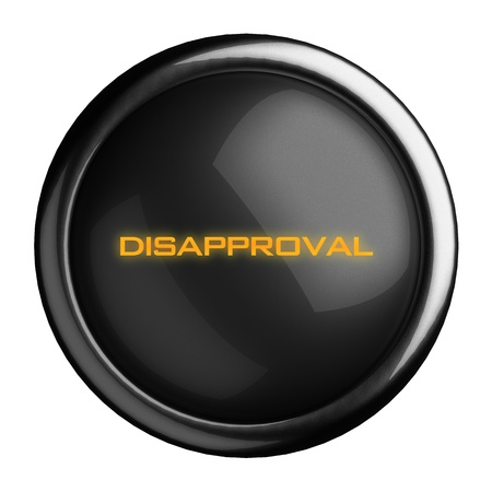 Word on black button Stock Photo - 15727383