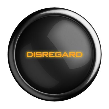 disregard: Word on black button