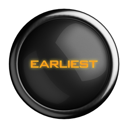 Word on black button Stock Photo - 15709404